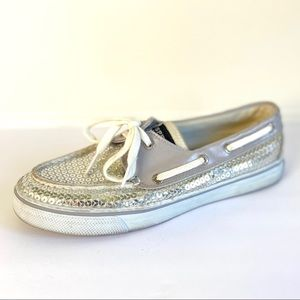Sperry Top Sider Bahama Sequin Boat Shoe 6.5